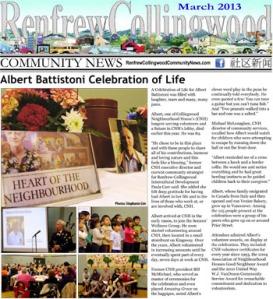 RCC News March 2013