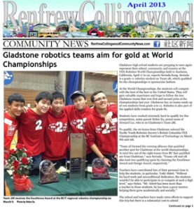 RCC News April 2013 issue