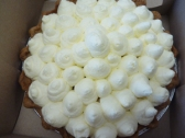 Banana cream pie from VCC's Seiffert Market