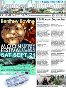 Renfrew-Collingwood Community  News September 2013