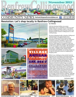 Renfrew-Collingwood Community News November 2013