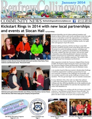 Read the January 2014 RCC News
