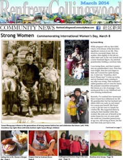 March 2014 news stories from the Renfrew-Collingwood neighbourhood in East Vancouver. Local news on events, people, history, eating out, recreation, arts & culture.