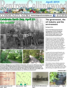 April 2014 news stories from the Renfrew-Collingwood neighbourhood in East Vancouver. Local news on events, people, history, eating out, recreation, arts & culture.