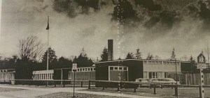 Lord Beaconsfield Annex before it expanded and became Nootka Elementary