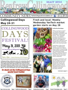 Renfrew-Collingwood Community News, May 2014