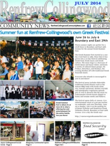 Renfrew-Collingwood Community News July 2014