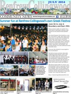 Renfrew-Collingwood Community News July 2014