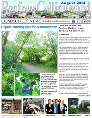 August 2014 RCCNews