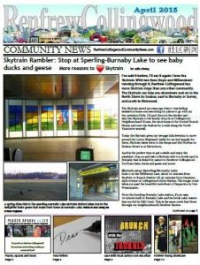 April 2015 issue of RCC News
