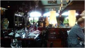 Dining room at La Piazza Dario