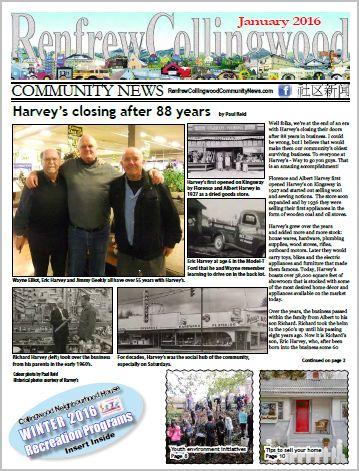 January 2016 RCC News