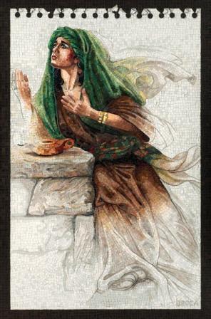 Judith Praying in the Desert