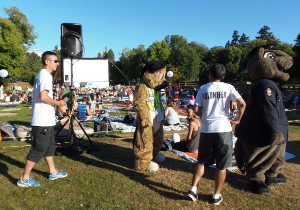 Picnic and Movie at Gaston Park