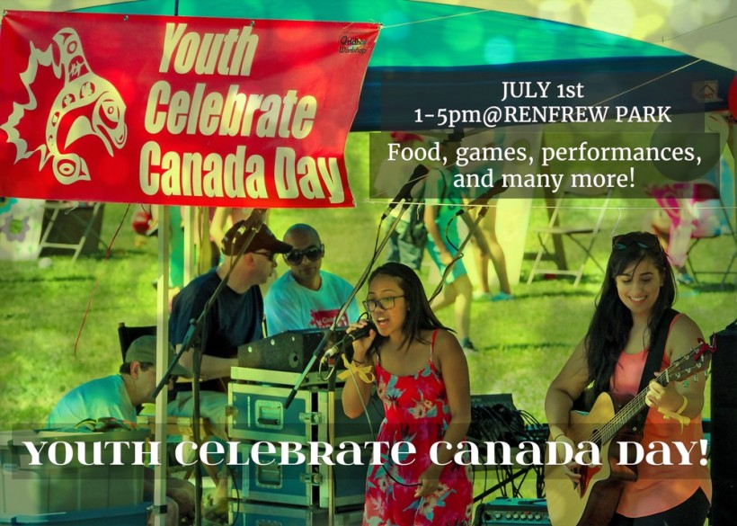 Youth Celebrate Canada Day at Renfrew Park, July 1