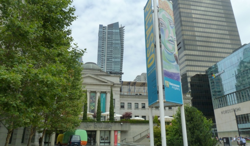 Picasso exhibit at the Vancouver Art Gallery