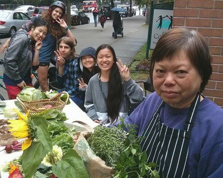 Windermere Organic Garden market stall