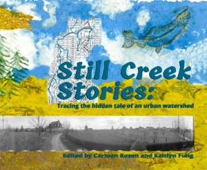 A preview of Still Creek Stories. Cover design by January Wolodarsky