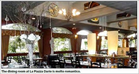 La Piazza Dario - Romantic Valentine Eats