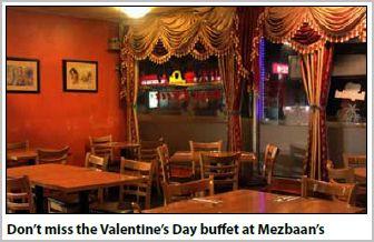 Mezbaan's Valentine Buffet