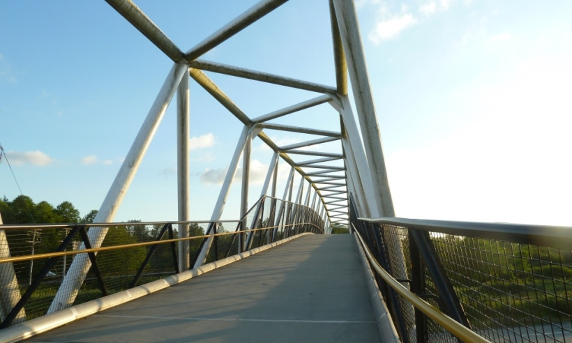 Overpass to Burnaby Lake