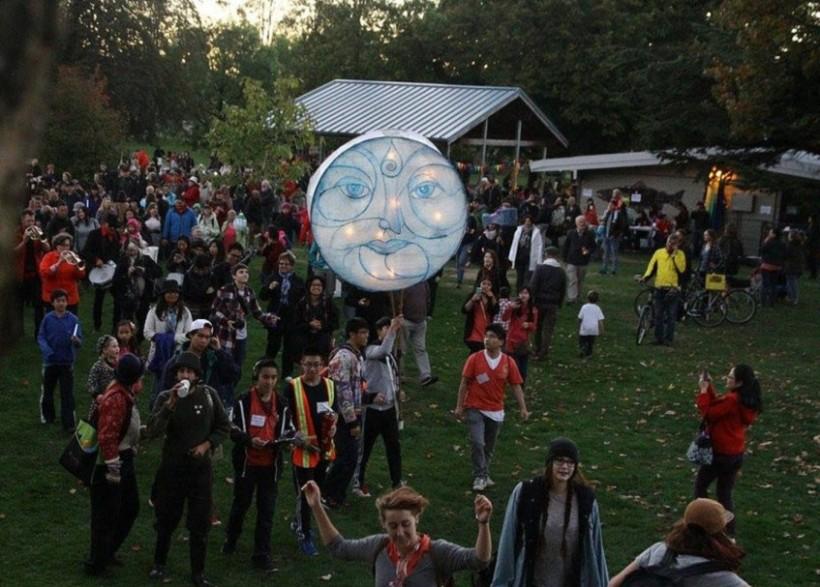 Twilight Lantern Walk Renfrew Ravine Moon Festival