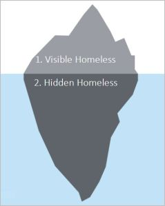 iceberg homeless count