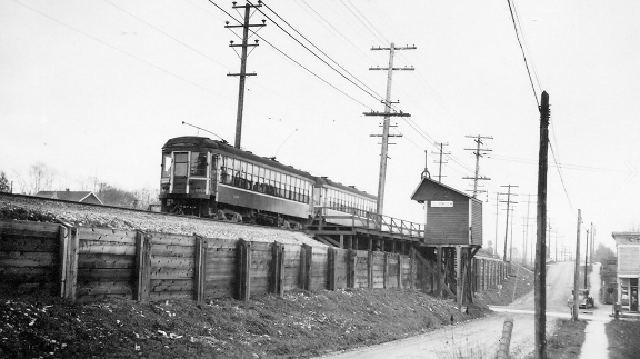 1950 Collingwood West Station Rupert And Vanness