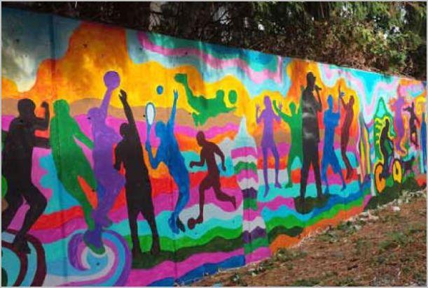 Collingwood Wall mural