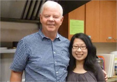Barry Londry and Esther Yuen