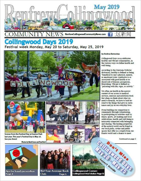 Renfrew-Collingwood Community News May 2019